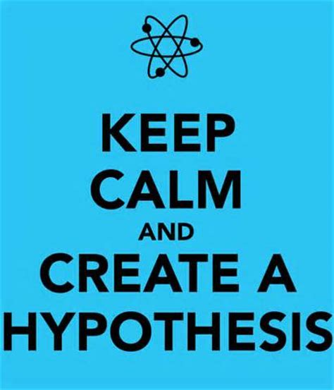 How to create a hypothesis for thesis paper